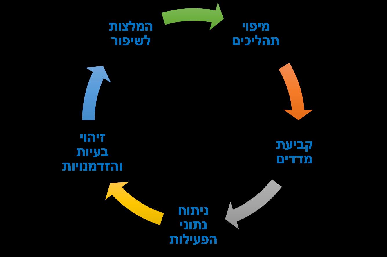 תהליך עבודה טיפוסי של דאטה אנליסט